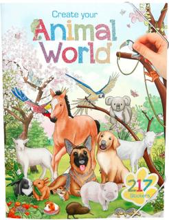 Pysselbok - Create Your Animal World