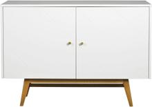 Rosswood sideboard Vit/ek 124 x 42 cm