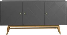 Rosswood sideboard Grå/ek 169 x 42 cm