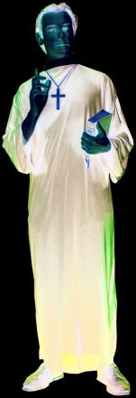 Klassisk prästdräkt - Maskeradkläder för vuxna