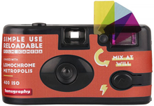Lomography Simple Use Reusable Film Camera LomoChrome Metropolis, Lomography