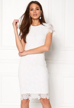 BUBBLEROOM Flora lace dress White 34