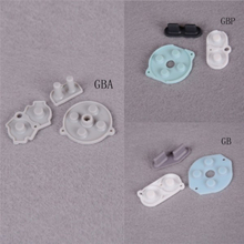 3pcs Rubber Conductive Buttons Pad For Game Boy Gb Gbp Gba Start