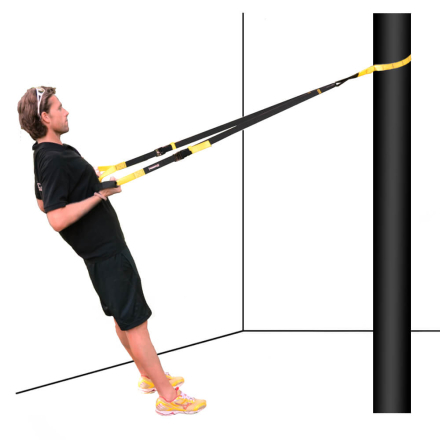 MultiTrainer jumppanauha (muistuttaa TRX nauhoja) musta/keltainen