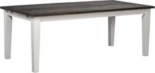 Nottingham matbord Vit 200 x 100 cm