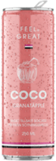 Feel Great Coco Granatäpple 250 ml