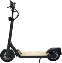 EGRET Ten V4 E-Scooter black/wooden footboard 2020 Elscooter