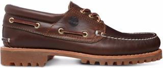 Timberland Men's Authentics 3-Eye Classic Lug Herre hverdagssko Brun US 12/EU 46