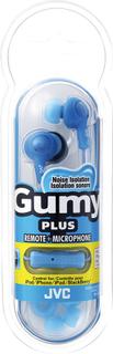 JVC Gumy Plus In-Ear Hörlurar W/Mic - HA-FR6 - Blå