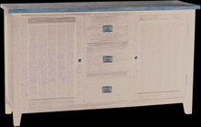 Nottingham sideboard Grå 153 x 45 cm