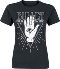 Bullet For My Valentine - All Seeing Eye -T-skjorte - svart