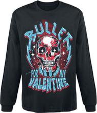 Bullet For My Valentine - Crystal Skull -Langermet skjorte - svart