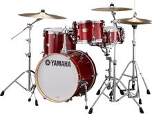 Yamaha Stage Custom Birch Bop Shell Set - Cranberry Red