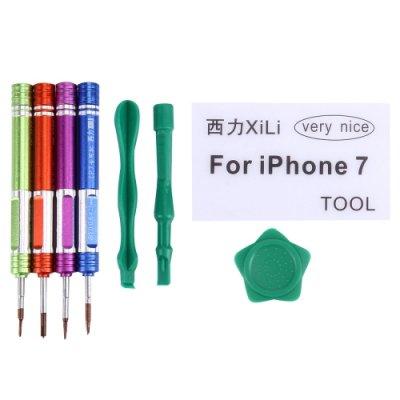 Skruvmejsel set 9 i 1 för iPhone 7/ 7Plus/ 8/ 8Plus/ X