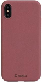 Krusell Sandby Cover till iPhone X/XS - Röd