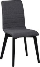 Gracy stol Mörkgrå/svart