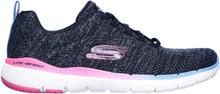 Skechers Womens Flex Appeal 3.0 Reinfall Navy Multicolor