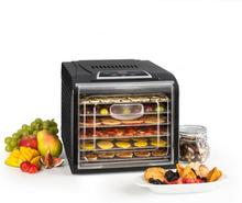 Fruit Jerky Plus 6 torkautomat timer 6 hyllor bleck 420-500W svart