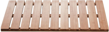 RIDDER Badrumsmatta i trä Grating Nature 72x38 cm