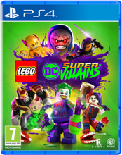 LEGO DC Super-Villains - Sony PlayStation 4 - Przygodowy