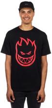 Spitfire Classic Bighead T-Shirt black w/white red prints S