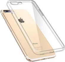 Läpinäkyvä kotelo iPhone 8 Plus ja iPhone 7 Plus