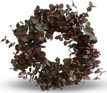 Konstväxt - Krans med rönnbär D60 cm