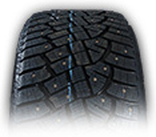 265/65R17 CONTINENTAL ICE CONTACT 2 DUBB