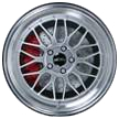 """GH EDITION RACING GT SILVER 8*18"""""""