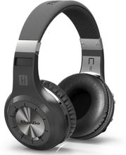 Bluedio H+ Turbine Trådlös Bluetooth Stereo hörlurar - Svart