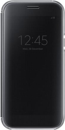 Samsung Galaxy A5 (2017) Clear view cover Svart