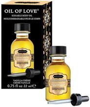 Kamasutra Oil of Love Vanilla Creme