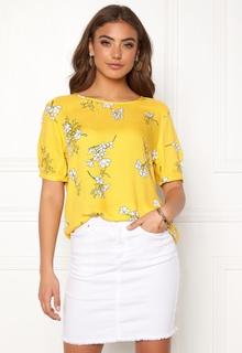 Jacqueline de Yong Kenya 2/4 Top Lemon/Flower 40