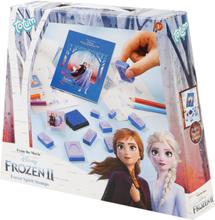 Frozen - 2 - Stempelset -Skrivesett - flerfarget