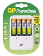 GP Batteriladdare EkoPower Inkl 4 st 1300mAh AA NiMH