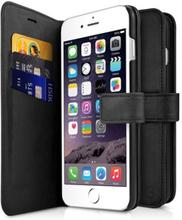 Cirafon Wallet Book Magnet Iphone 7, Iphone 8 Musta Nahka