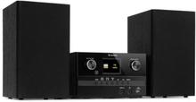 Connect System S stereoanläggning + högtalare max 20W internet/DAB+ svart