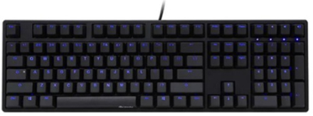 Ducky One Cherry MX Blac* Blue LED Black keycap