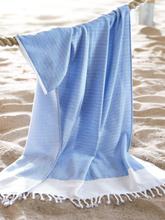 Strand-/hamambadlakan från Peter Hahn blå
