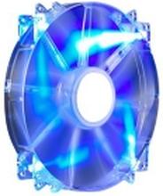 Cooler Master MegaFlow 200 - Indsats med blæser - 200 mm - blå