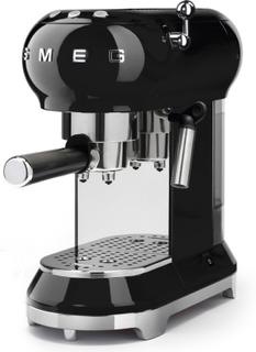 Smeg - Smeg Espressomaskine, Sort