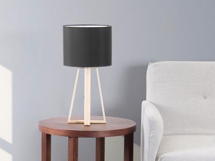 Modern bordslampa svart - lampa - sänglampa - läslampa - belysning - KORANA