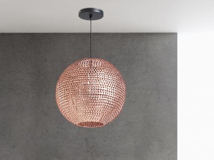 Modern taklampa koppar - hängande lampa - belysning - SEINE