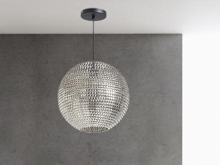 Modern taklampa nickel - hängande lampa - belysning - SEINE