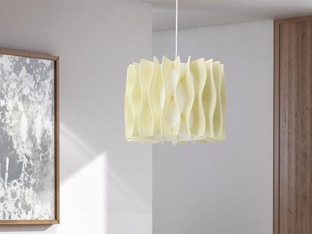 Modern taklampa creme - hängande lampa belysning - MOZA