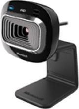 Microsoft LifeCam HD-3000 for Business - Webcam - farve - 1280 x 720 - audio - USB 2.0