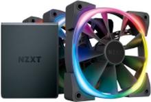 NZXT Aer RGB 2 Starter Kit - kabinet-blæser - 120 mm (3-pak) - 22dB - 52.44 kubikfod/min