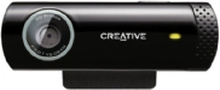 Creative Live! Cam Chat HD - Webkamera - farve - 1280 x 720 - audio - USB 2.0