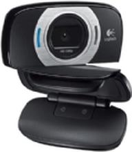Logitech HD Webcam C615 - Webcam - farve - 1920 x 1080 - audio - USB 2.0