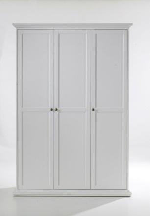 Tvilum Garderob Paris 3 dörrar-Vit